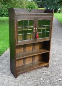 Liberty & Co Arts & Crafts Oak Bookcase