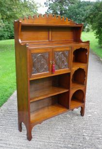 Liberty & Co Anglo-Moorish Bookcase