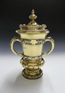 Mappin & Webb Silver Gilt Cup & Cover